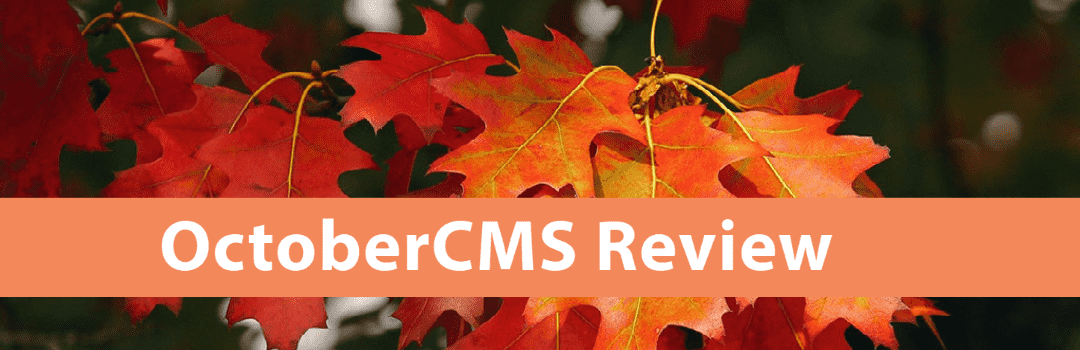 OctoberCMS Review